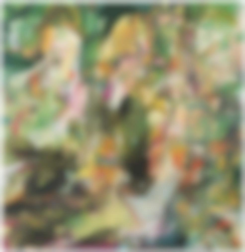 Cecily Brown-Blonde Eating Birds-2012