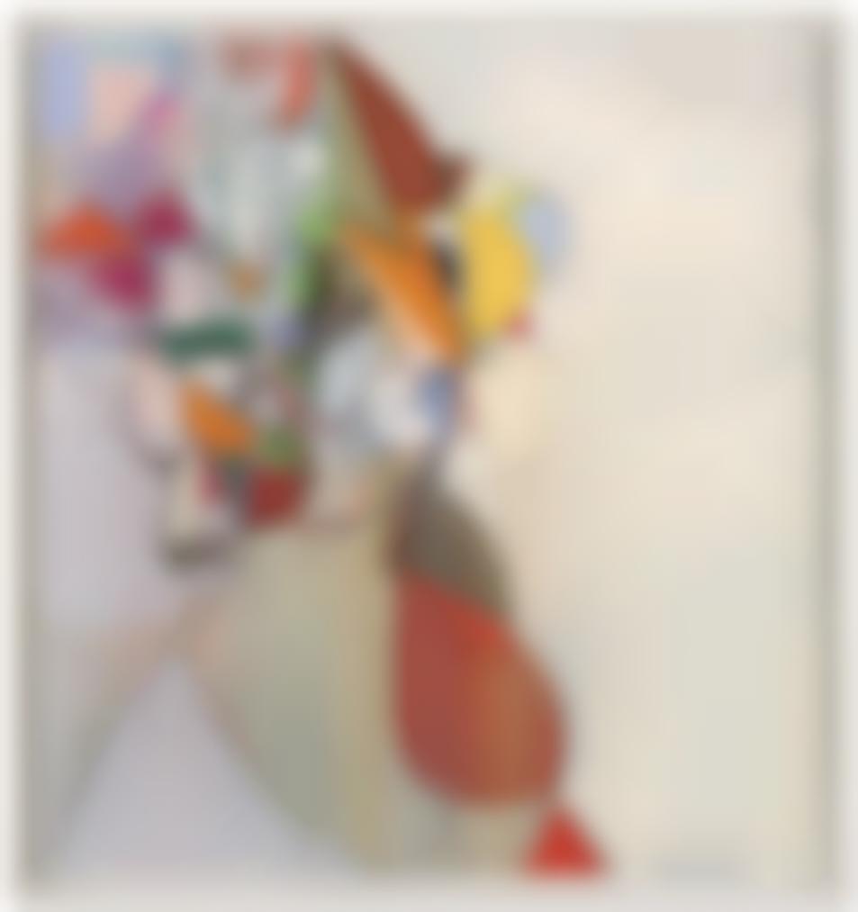 George Condo-Diagonal Portrait-2013