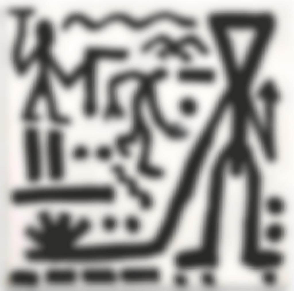 A.R. Penck-Untitled-1982