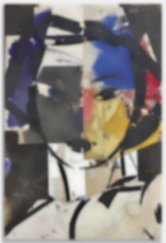 Manolo Valdes-Matisse Como Pretexto Con Ocre Y Espejo-2017