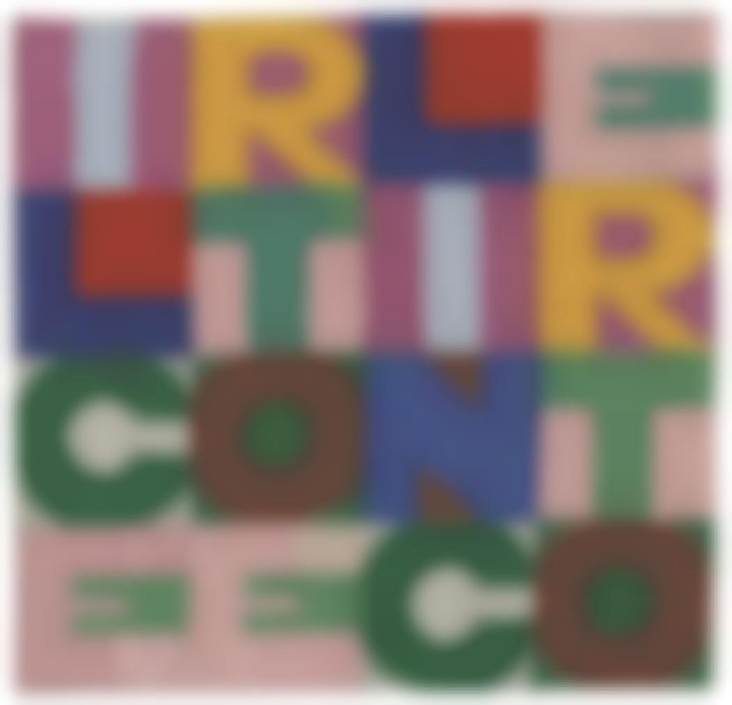 Alighiero Boetti-Il Certo E Lincerto (The Certain And The Uncertain)-1979