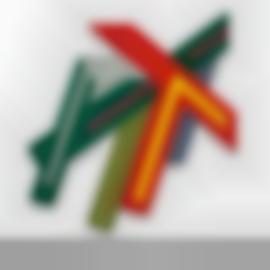 Frank Stella-Narowla II-1971