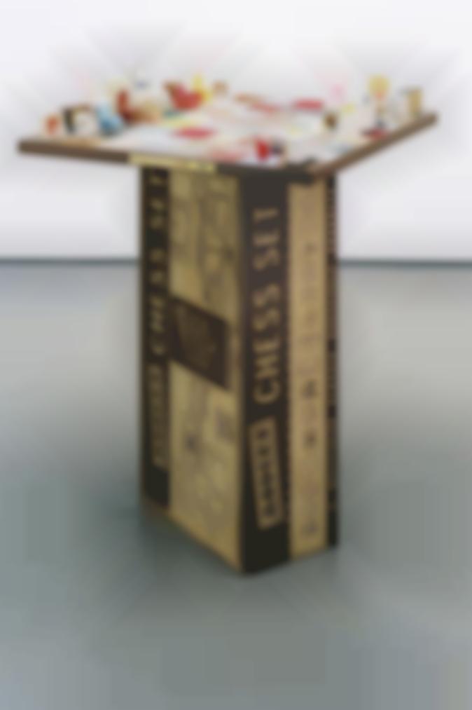 Rachel Whiteread-Modern Chess Set-2005
