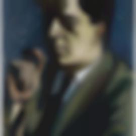 Alice Neel-Untitled (Portrait Of Dr. J. Gordin Kaplan)-1950