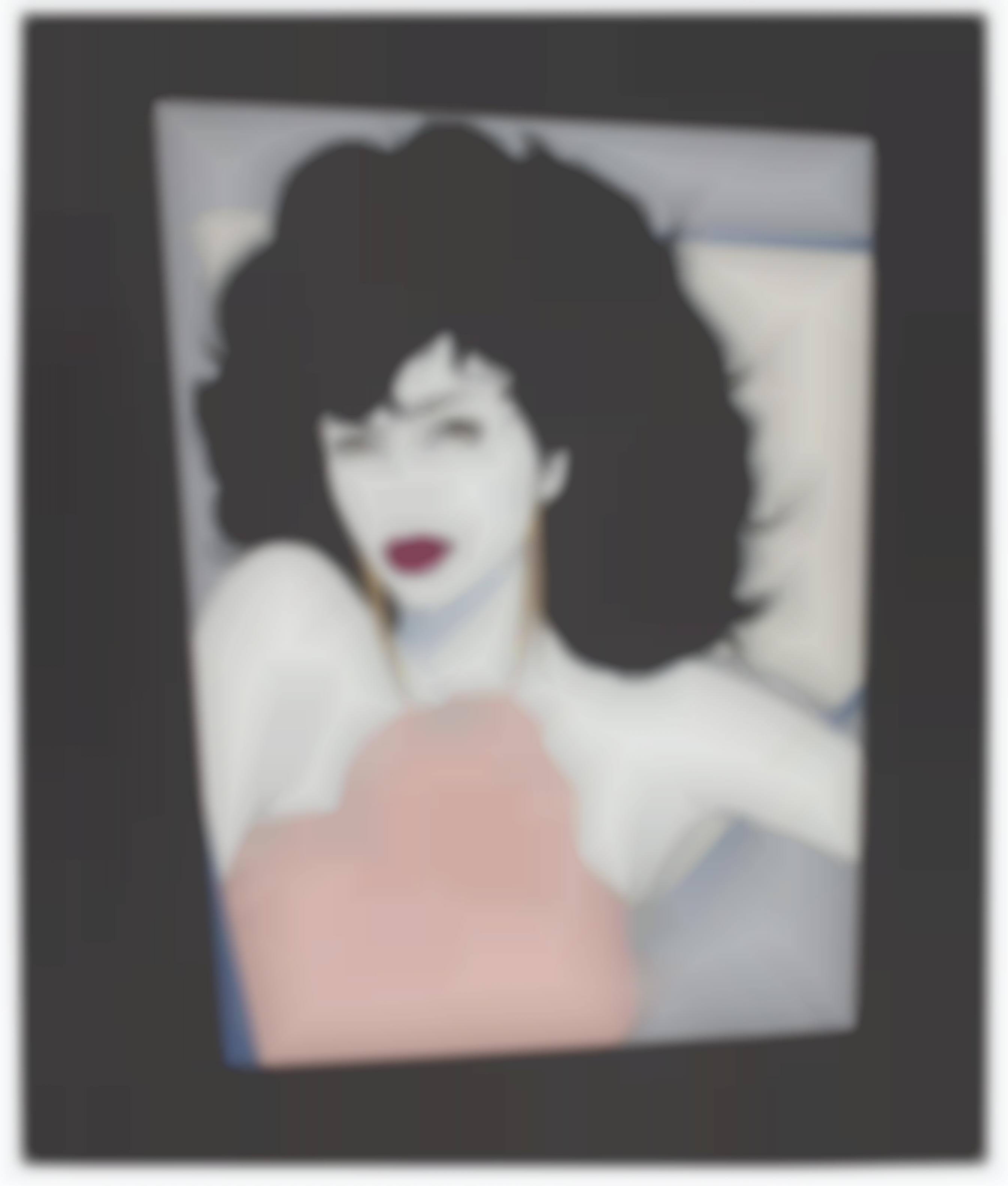 Patrick Nagel-Joan Collins (N. 411)-1982