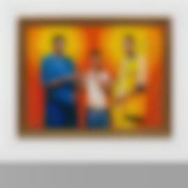 Kehinde Wiley-Passing/Posing (Marriage Of The Virgin)-2005