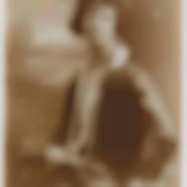 James Van Der Zee-Portrait Of A Young Woman-1928