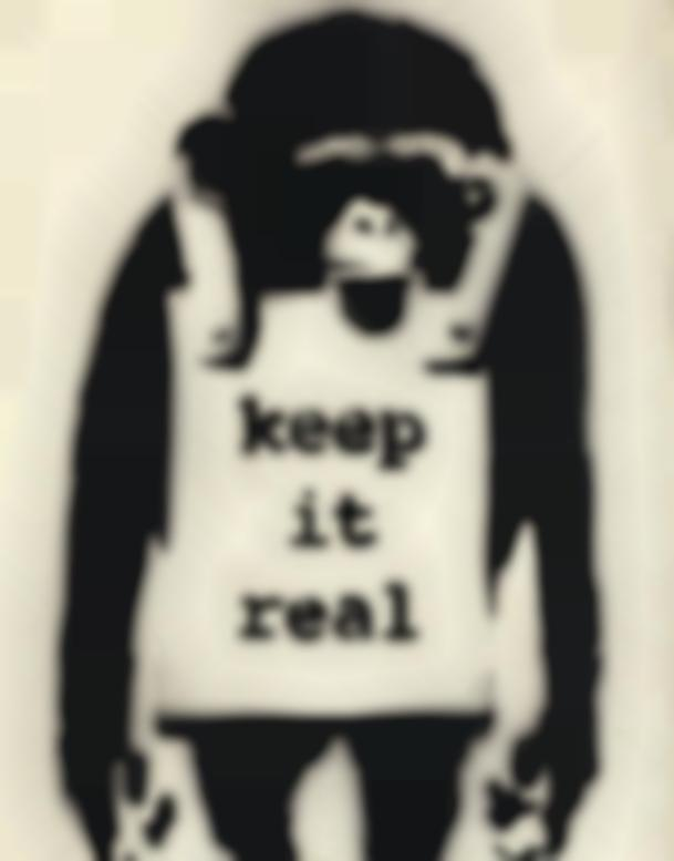 Banksy-Keep It Real-