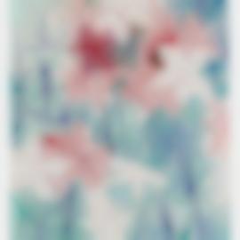 Sigmar Polke-Alpenveilchen/Flowers-1967