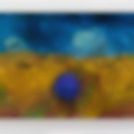 Jeff Koons-Gazing Ball (Van Gogh Wheatfield With Crows)-2015