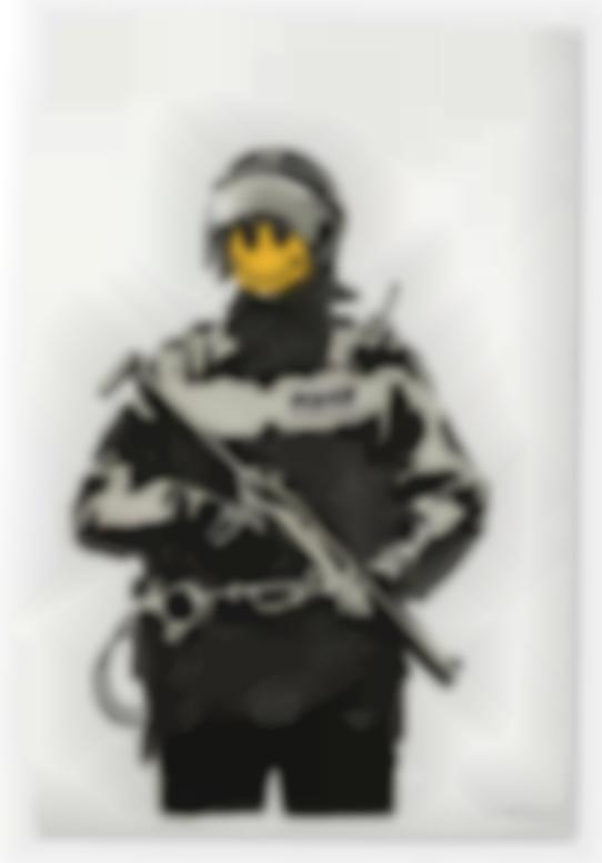 Banksy-Riot Cop-