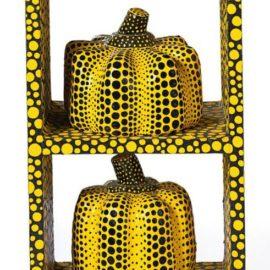 Yayoi Kusama-Self-Obliteration Of Pumpkins-1991