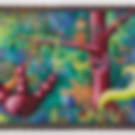 Kenny Scharf-Humidungle-1996