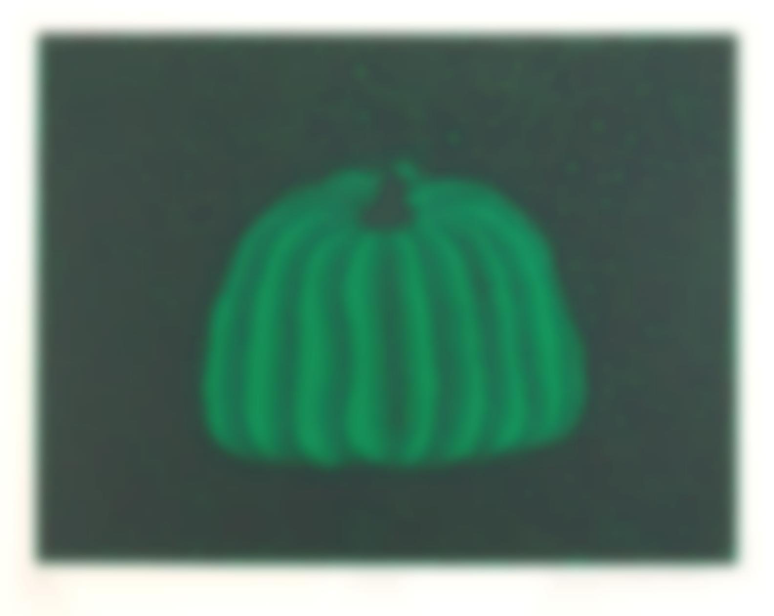 Yayoi Kusama-Pumpkin: Green, 1984-1984