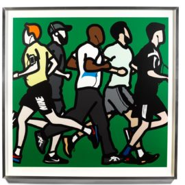 Julian Opie-Running Men, 2016-2016