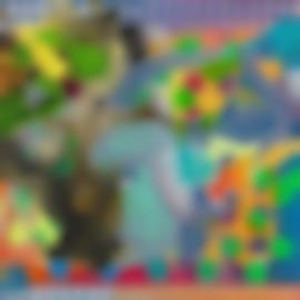 Frank Stella-East Euralia (A. 233), 1995-1995