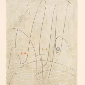 Max Ernst-Les Requins Ou Trois Requins En Quete Dune Victime (S./L. 120B), 1967-1967