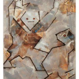 Max Ernst-Les Flaneurs-1958