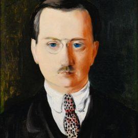 Moise Kisling-Portrait d'Ernest Rouvier-1926