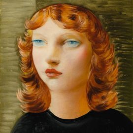 Moise Kisling-Jeune Fille Rousse-1935