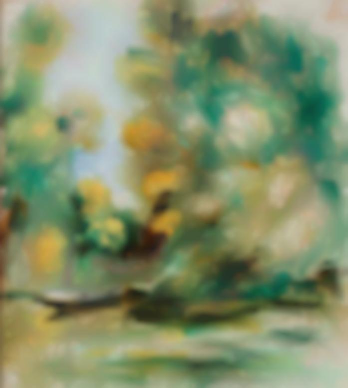 Pierre-Auguste Renoir-Bord De Riviere, La Barque-1900