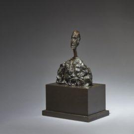 Alberto Giacometti-Petit Buste Dhomme-1950
