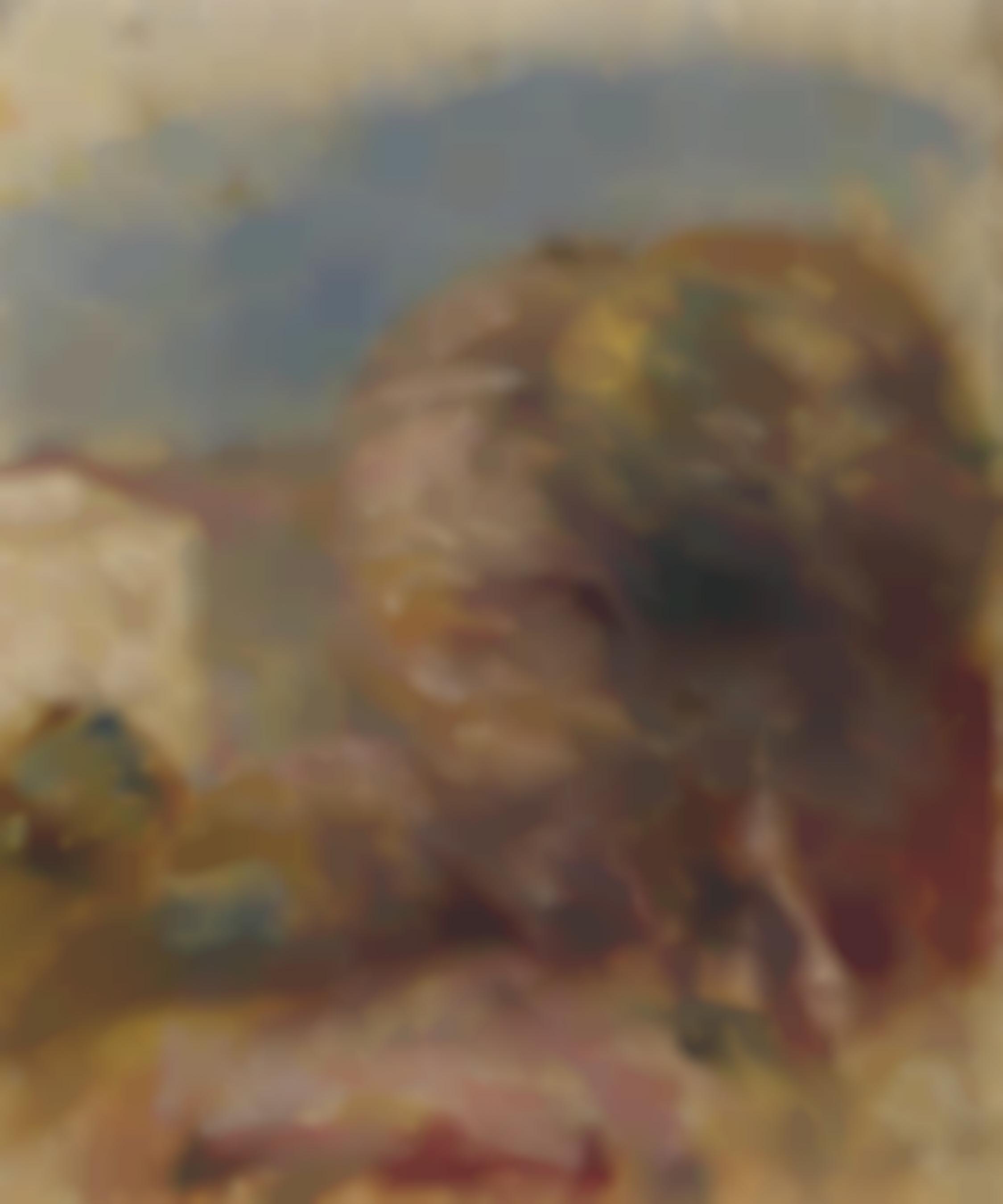 Pierre-Auguste Renoir-La Poste A Cagnes-1905