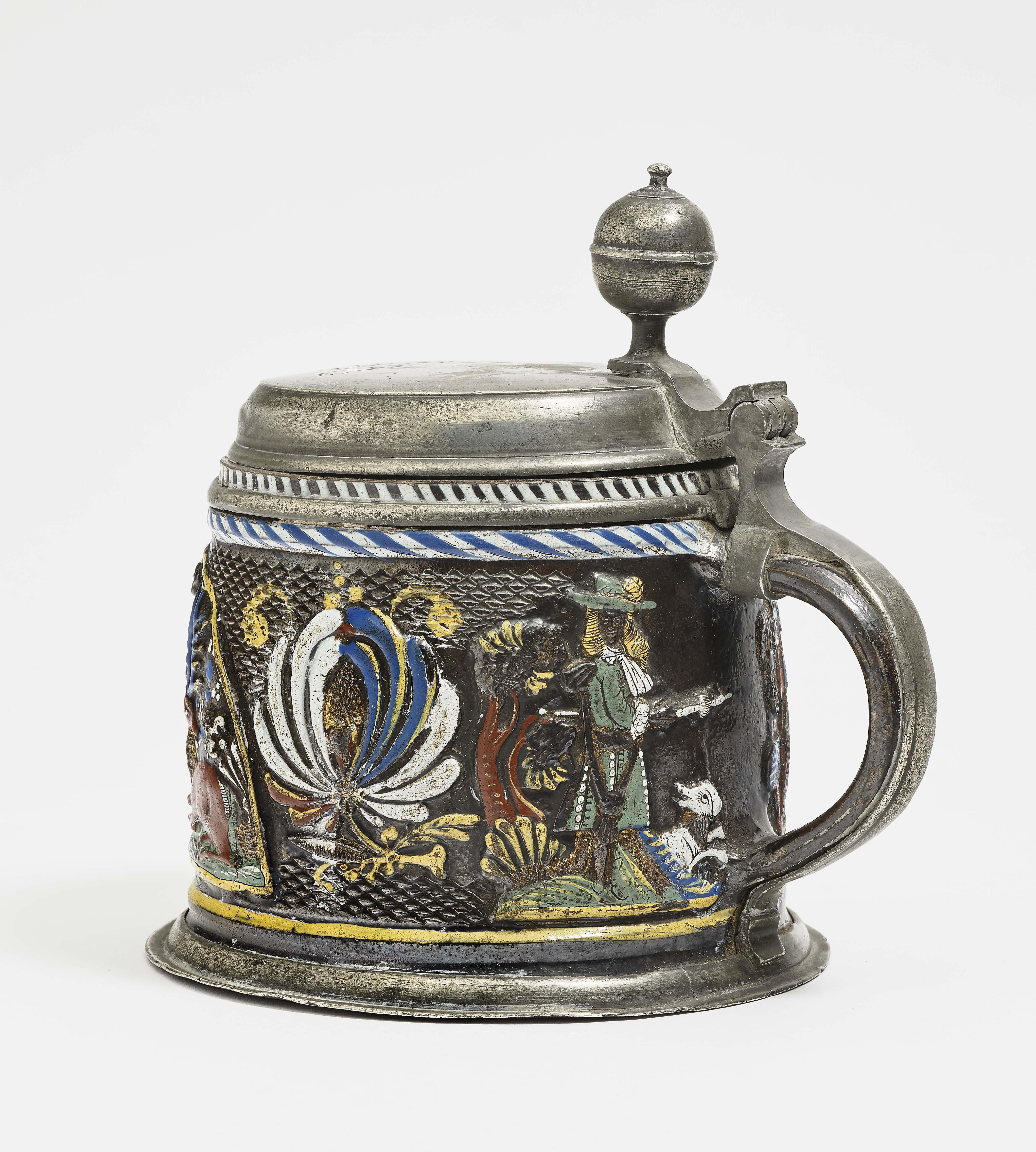 A Stoneware Tankard - Annaberg, 2Nd Half Of The 17Th Century-