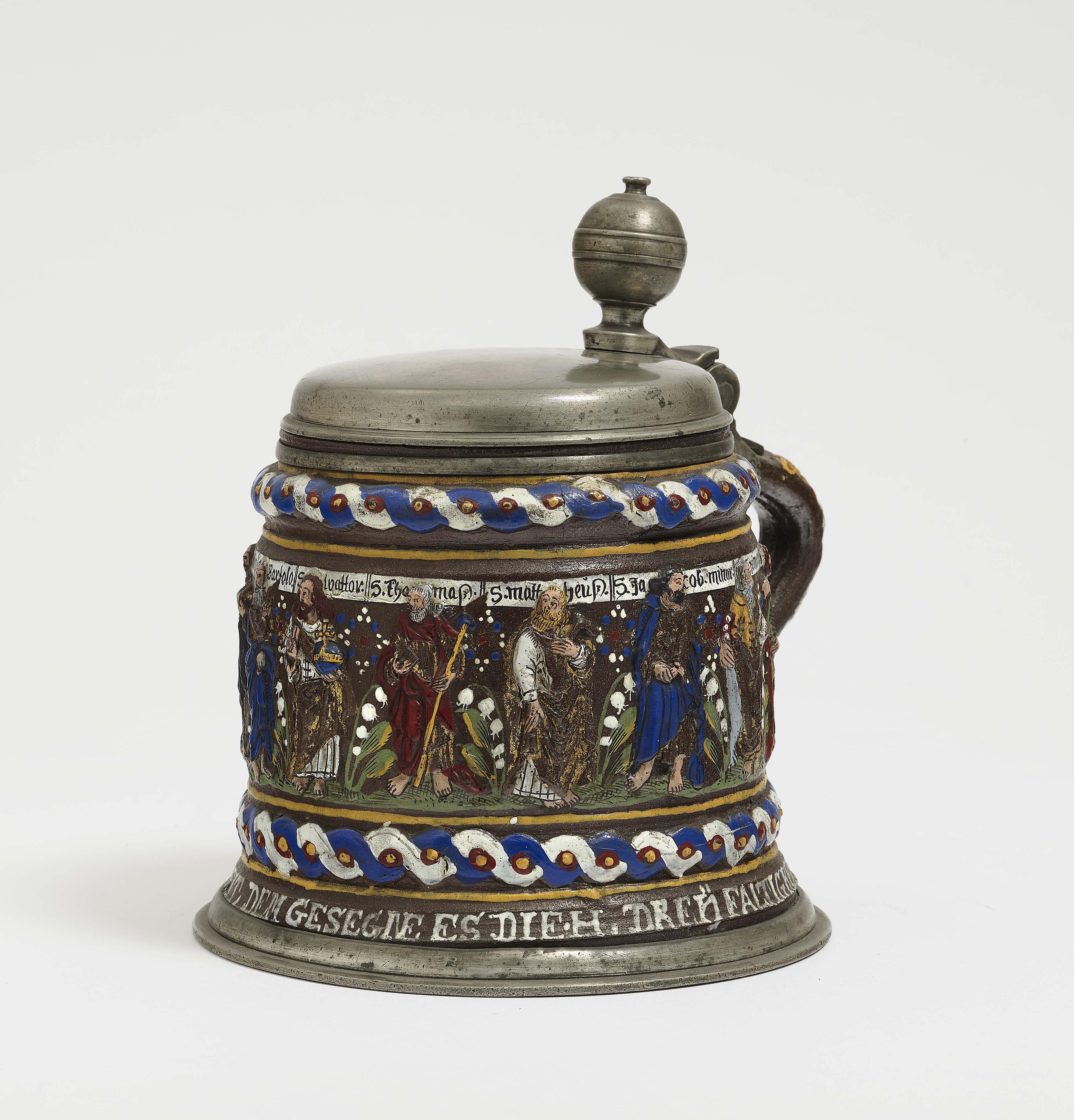 A Stoneware Tankard - Creussen-