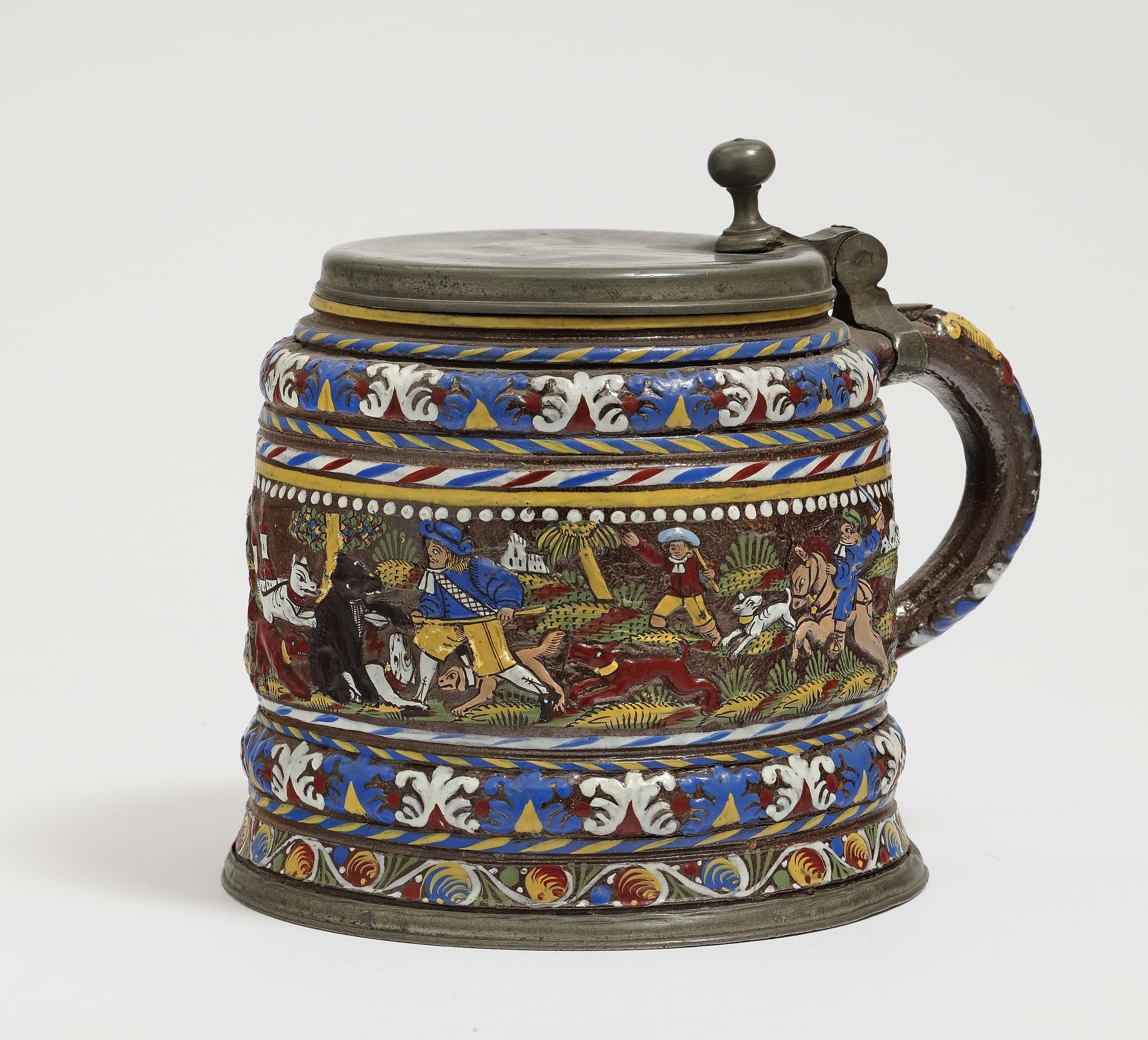 A Stoneware Tankard - Creussen, 2Nd Half Of The 17Th Century-