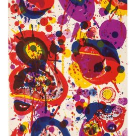 Sam Francis-An 8 Set - 1 (From The Pasadena Box)-1963