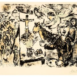 Marc Chagall-The Artist And Biblic Themes (Lartiste Et Themes Bibliques)-1974