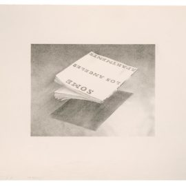 Ed Ruscha-Some Los Angeles Apartments (From Book Covers Series)-1970