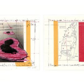 Christo and Jeanne-Claude-Surrounded Islands (Project For Biscayne Bay, Greater Miami, Florida) (Part I And Ii)-1987