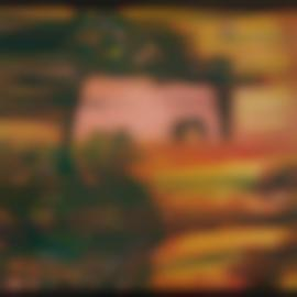 Friedensreich Hundertwasser-Die Flucht Des Dalai Lama (The Flight Of The Dalai Lama)-1959