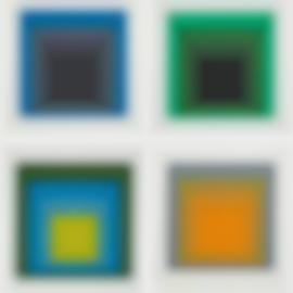 Josef Albers-Formulation And Articulation I And II-1972
