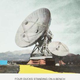 John Baldessari-The News: Four Ducks Standing On A Bench...-2014