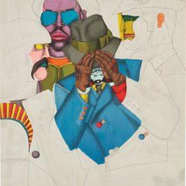 Richard Lindner-New York Men, From Fun City-1971