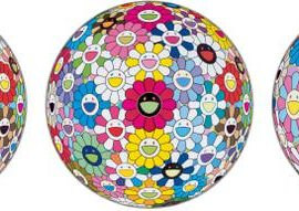 Takashi Murakami-Space Show; Hold Me Tight; And Cosmic Power-2016
