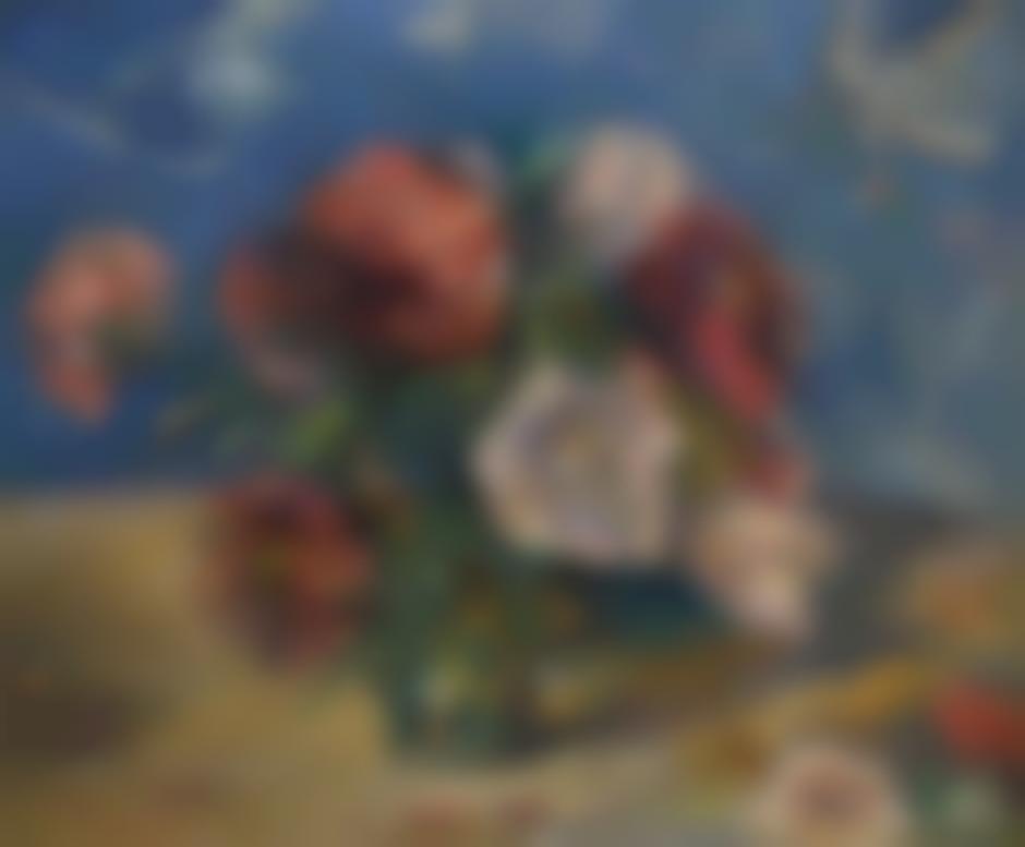 Paul Gauguin-Les Pivoines II-1884
