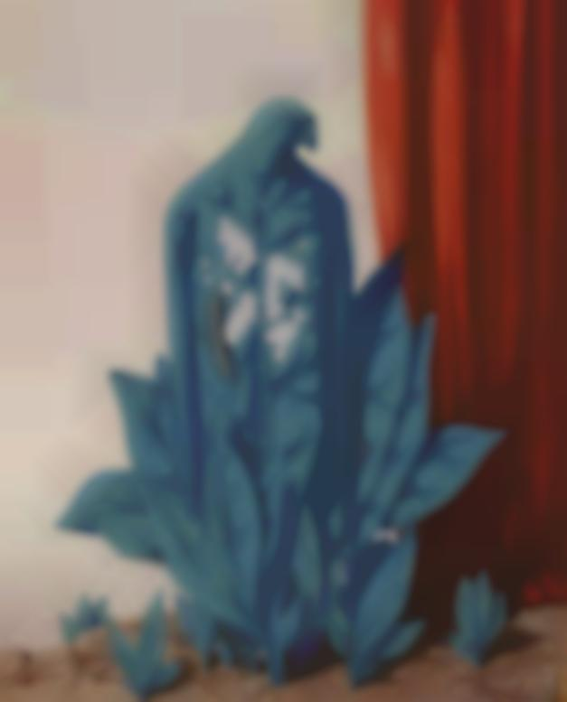 Rene Magritte-La Saveur Des Larmes-1951