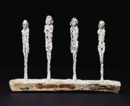 Alberto Giacometti-Quatre Figurines-1950