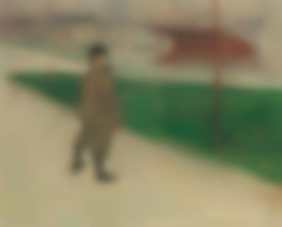 Henri de Toulouse-Lautrec-Tristan Bernard Au Velodrome Buffalo-1895