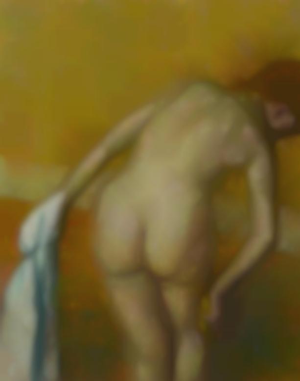 Edgar Degas-Femme Prenant Un Tub-1886