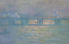 Claude Monet-Charing Cross Bridge-1903