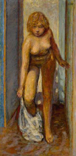 Pierre Bonnard-Femme Se Deshabillant-1930
