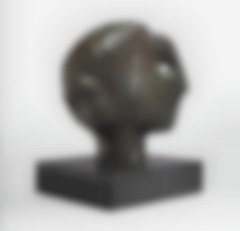 Henry Moore-Study For Head Of The Queen No. 2-1952