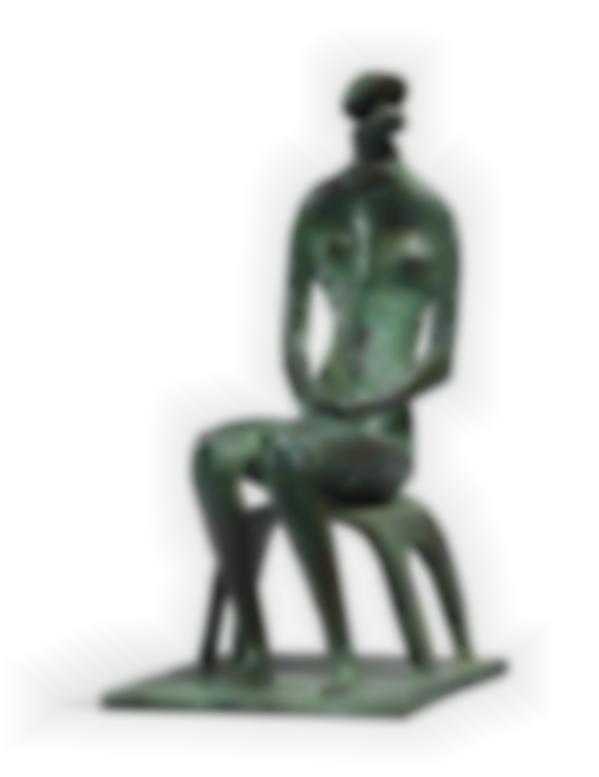 Henry Moore-Seated Figure-1952