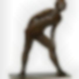 Edgar Degas-Danseuse Se Frottant Le Genou-1895