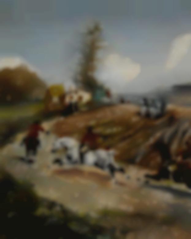 Henri de Toulouse-Lautrec-Chasse A Courre-1881